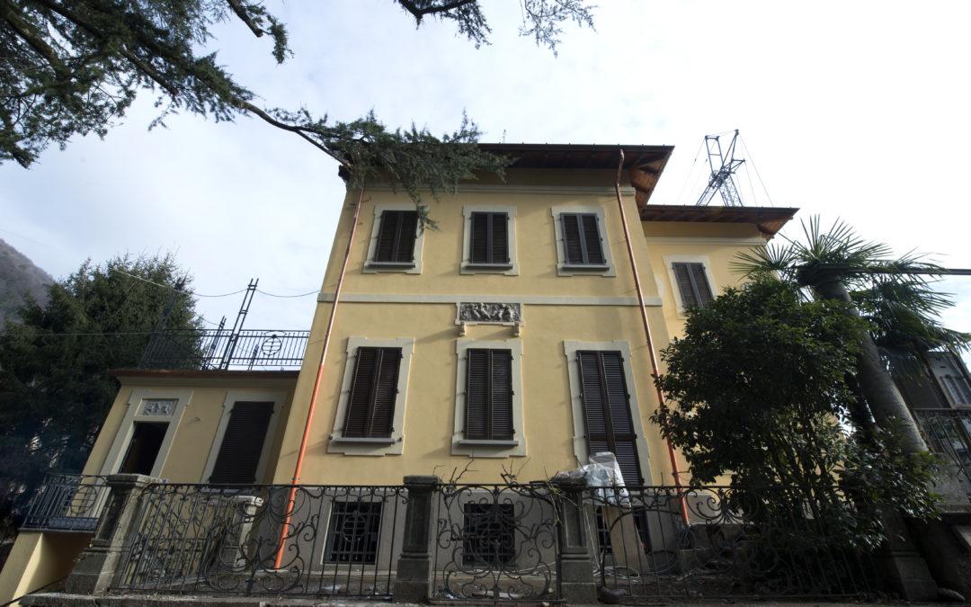 Induno Olona appartamenti in villa d'epoca